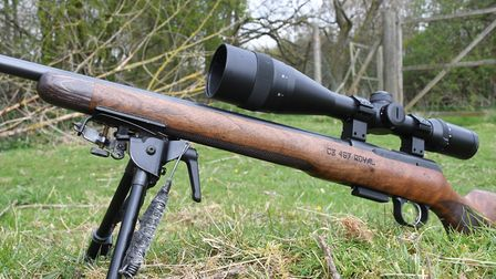 7. I don't personally care for the slimmed down forend ahead of the action, my hands wrap over it an