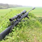 1. ATN Mars 4 Smart HD Thermal Rifle Scope set up on a 243 Howa Lightning II for vermin control