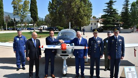 Tecnam Completes Delivery of 12 Trainer Aircraft to The Hellenic Air Force