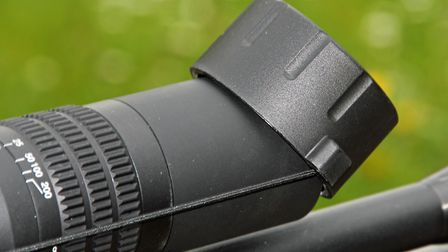 Lens covers are supplied