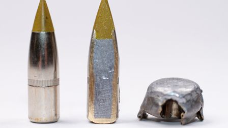 B2 The large Matrix tip gives a greater surface area for expansion and higher ballistic coefficient