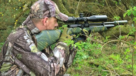 Effective concealment and pinpoint precision is a potent combination.