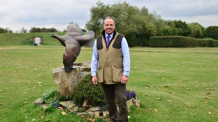 Mark Heath is a keen game shooter and head instructor at West London Shooting School - perfectly pla