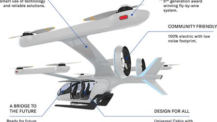 EmbraerX and Uber collaborate on eVTOL concept