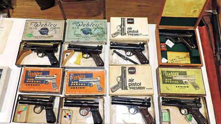 I never knew there were so many variations of pistols from back in the day