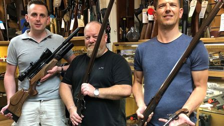 Ivan (on the right) and his team can supply your every airgunning need.