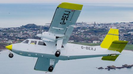 Britten-Norman deliver Piston Islander to Michigan-based Great Lakes Air