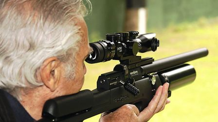 Another silver shooter, Roy, echoed my own thoughts on the merits of airgunning pleasure.