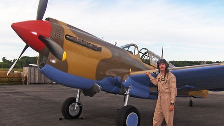 P40 Type Rating - night before accident - Peta Cook photo