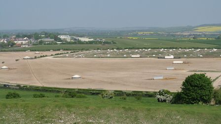 Old Sarum Airfield (c) Michael Day, Flickr (CC BY 2.0)