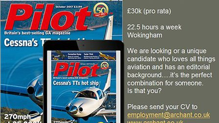 Pilot is looking for a new Assistant Editor