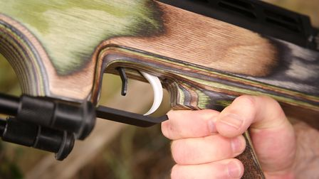 You'll need to remove the stock to adjust the trigger, but that's no problem at all.