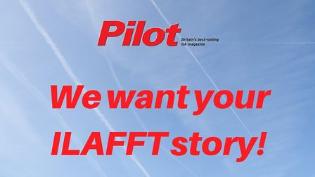 Submit your flying anecdote and be featured in an upcoming issue of Pilot