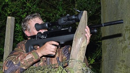 HAving various stable shooting positions from your hide is essential.
