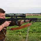 Ruger Precision Rimfire in 17 HMR is just as happy hunting as it is on the range