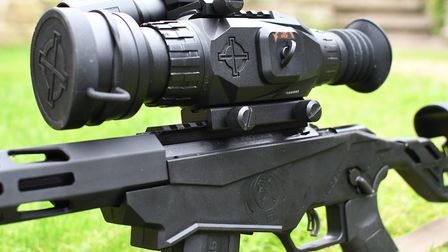 A picatinny rail adds to the rifles multi-optic versatility and thanks to the minimal bulk of the ac