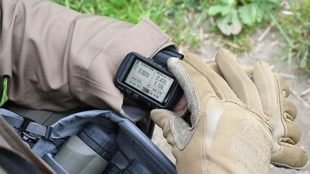 Garmin's Foretrex 701 is a self-contained ballistics computer yet easy to read display for remote to