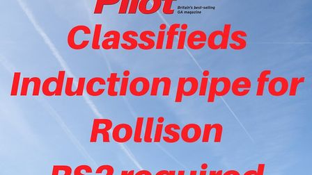 Induction pipe with oil cooler for Rollison RS2 engine required