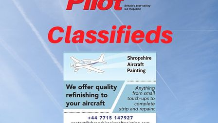 Repairs and resprays with Shropshire Aircraft Painting