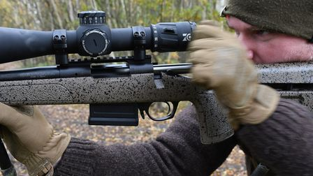 Even from my opposite shoulder, I loved the fast bolt operation of the HMR
