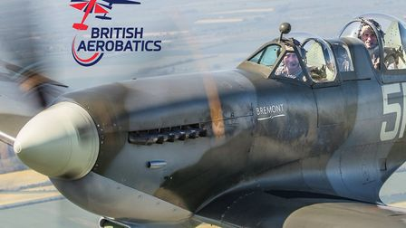 Last few tickets remaining to win a Spitfire flight for just £20
