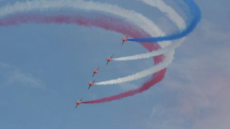 The Red Arrows (c) Samuel Drane, Flickr (CC BY 2.0)