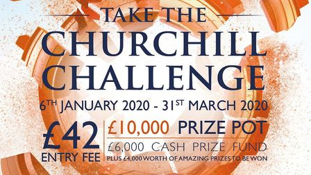 Get involved with the Churchill Challenge and be in with a chance of winning the cash prize!