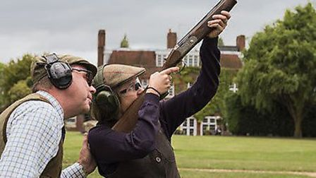 West London Shooting School has donated 200 pairs of protective glasses to the NHS staff at St MArk'