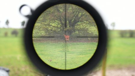 On a daylight scope we attempt to focus the image and eyepiece directly onto the reticle for zero pa