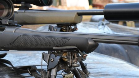 Both have sling studs suited to bipod use as well as plentiful forend grip from differing moulded pr