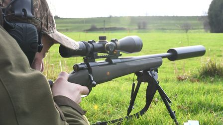 The Howa lives with a Vortex 4-16x50 scope and shot the better groups on actual test day with multip