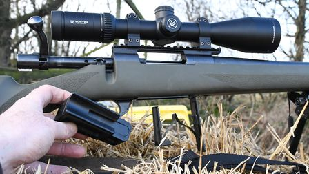 Detachable mag on the Sauer, a hinged floorplate for the Howa, no winner, just different, each syste