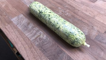 Wild garlic butter recipe - by Game for Anything