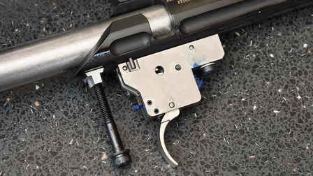 Lithgow add the usual threadlock to dissuade amateurs, but the adjustable trigger gives decent pulls
