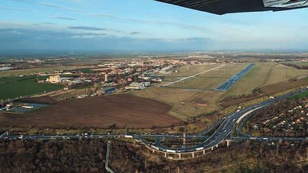 Letnany Airfield left and Kbely Airfield right