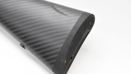 Recoil pad detail, firm with no downsides on a modest recoil rifle
