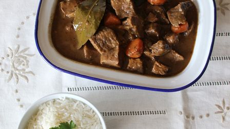 An easy, warming venison casserole recipe - comfort food at its finest!