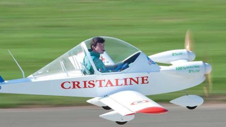 An electric-powered Cri-Cri flew across the channel in 2015