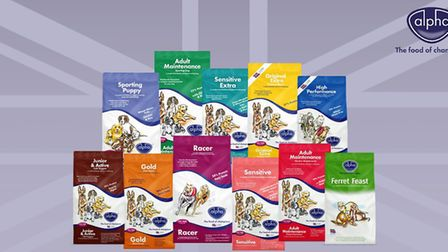 Whether your dog is young, old, in work or resting, Alpha Feeds has something to suit!