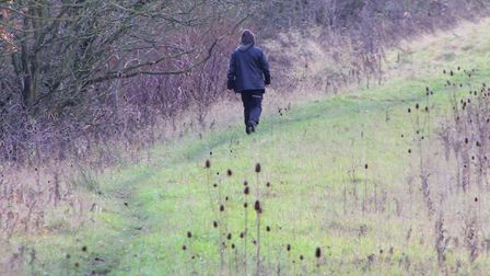 Even if you are shooting miles from a footpath, always be vigilant for trespassers