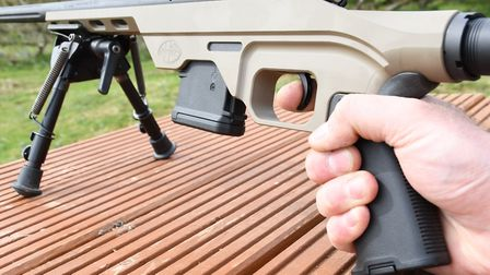Reach to trigger is extended on the Chassis which is a huge benefit over generic short AR-15 design