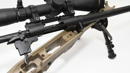 The stock and action interface is perfect and one of the best designs I have seen in a factory rifle
