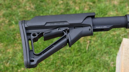 Magpul stock components are a step above similar looking but lower quality imitators