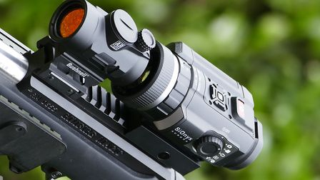 The perfect companion for a red dot shooter who want to see in the dark and record their adventures
