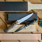 A selection of widely available sharpening equipment