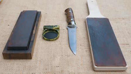 The authors own tried and tested sharpening equipment is affordable, simple to use and reliable