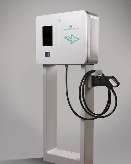 Green Motion's charging point