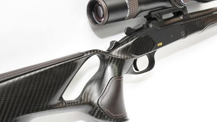 Carbon fibre is the perfect material to give strength shaped ergonomic form with an obvious visual h