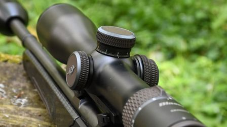 The Blaser scope is more than capable of dialled out to longer ages