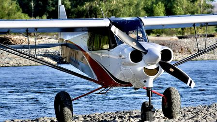 The XCub is easily convertible between nosewheel and tailwheel